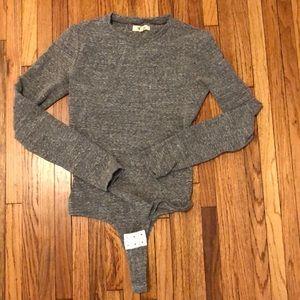 Madewell long sleeve bodysuit